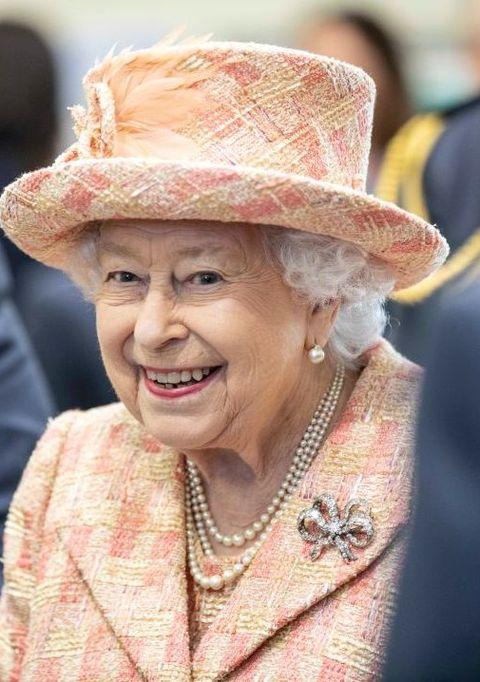 Her Majesty The Queen Visists RAF Marham