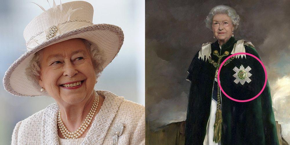 Queen Elizabeth Ii Sends A Hidden Message In Her New Portrait