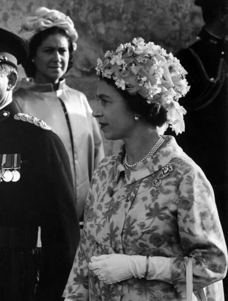 Queen Elizabeth Ii Visiting Malta