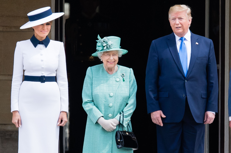 Queen Elizabeth Gives Donald Trump a First-Edition Copy of Churchill's World War II Book