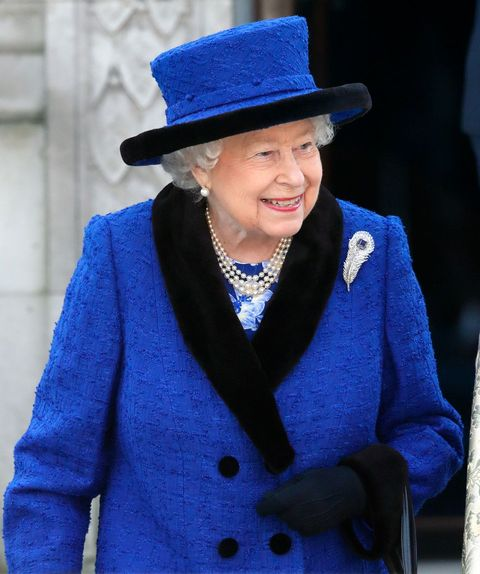The Queen Attends Service To Celebrate 100 Years Of The Royal Army Chaplains' Department's 'Royal' Prefix