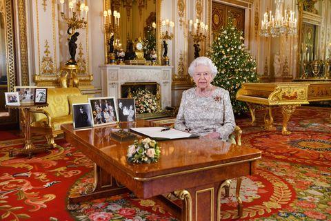 Queen Elizabeth II Delivers Her Christmas Speech