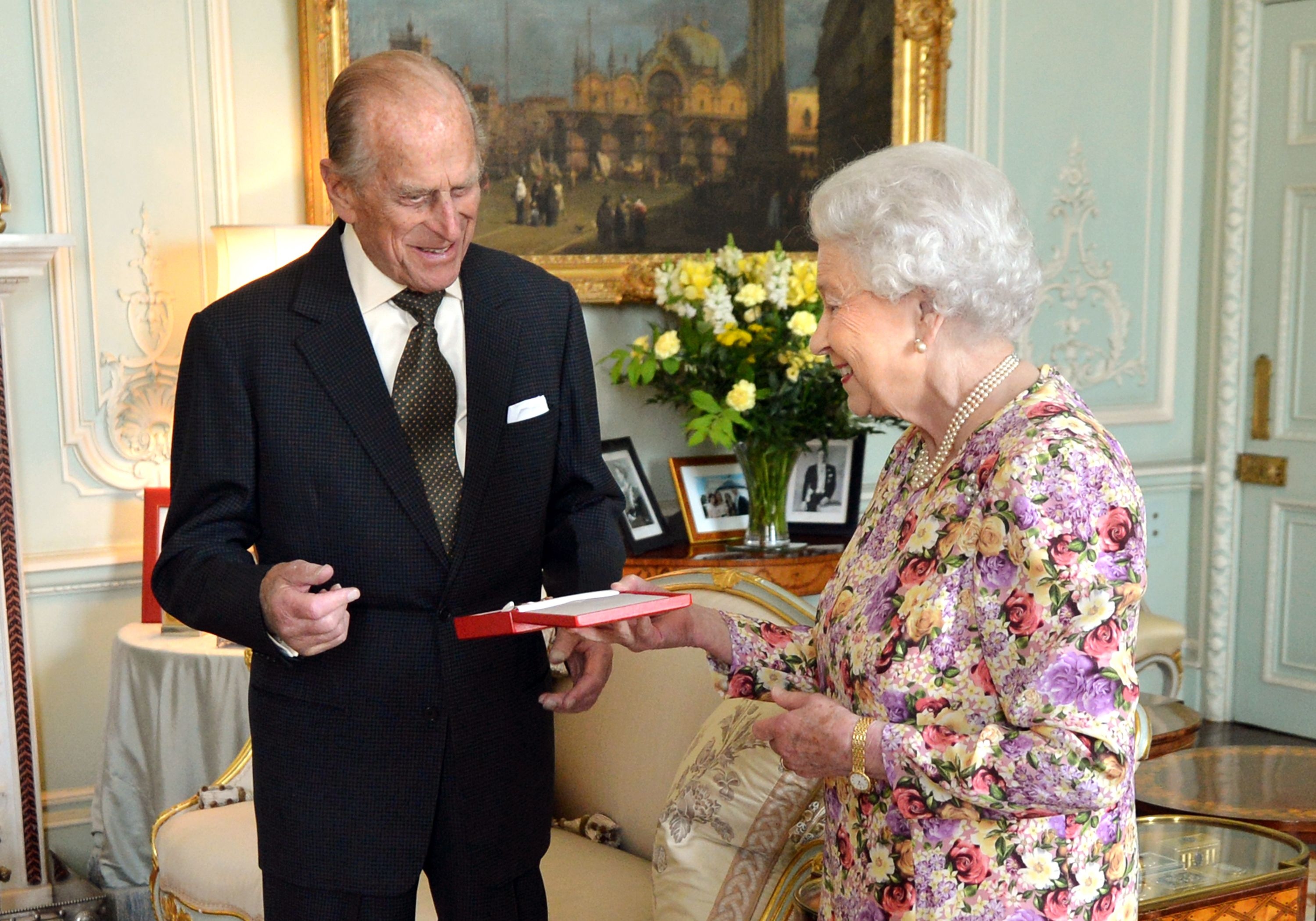 The Queen Bestows an Honor on Her Husband