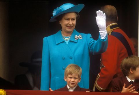Queen Elizabeth II,Prince Harry,Trooping the Colour