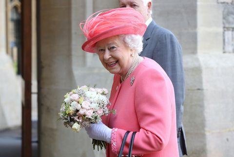 Her Majesty The Queen Starts The London Marathon