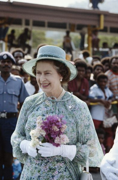 The Queen In Papua New Guinea