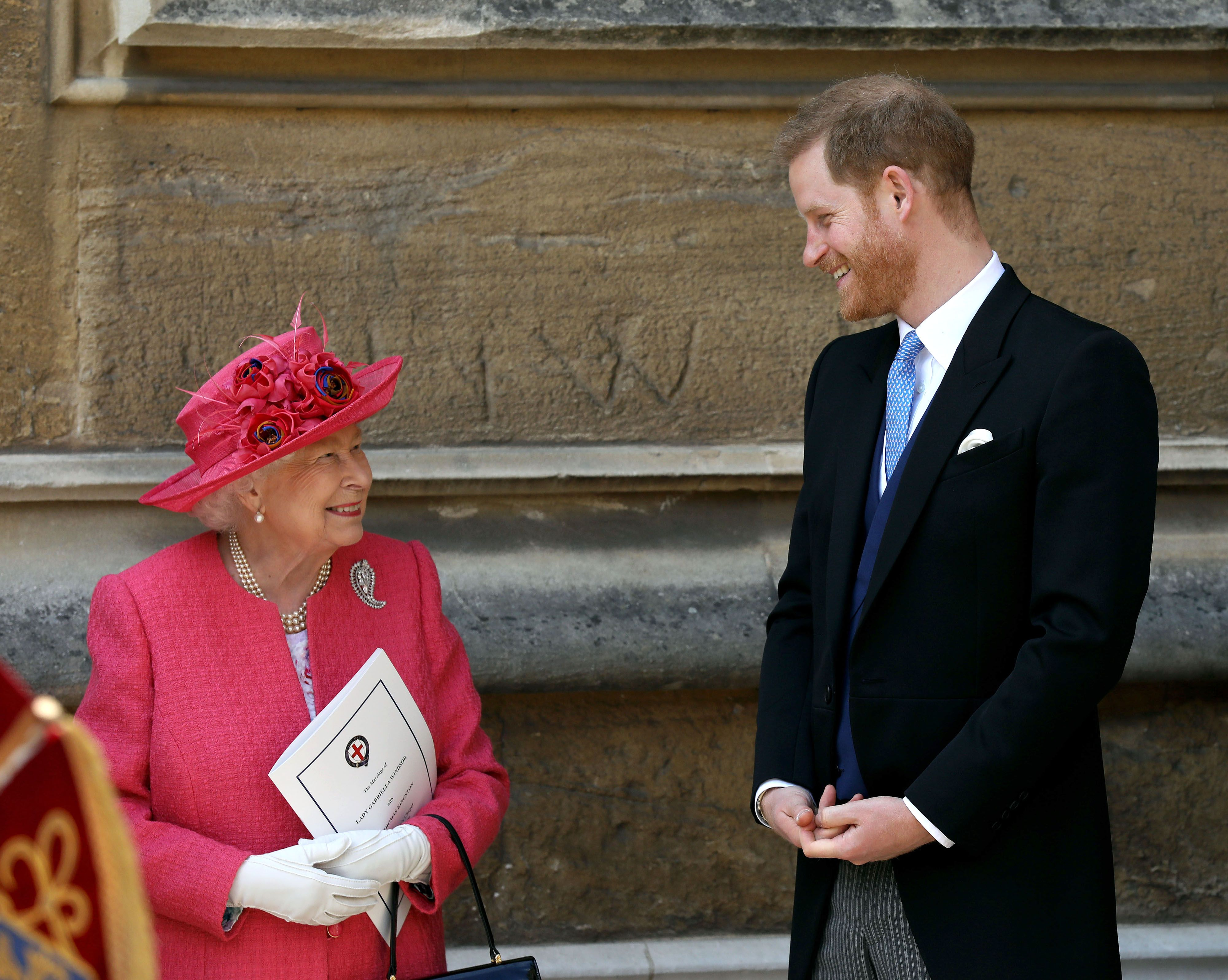 Um, Did You Know That Prince Harry Had to Get Queen Elizabeth to Approve His Wedding Outfit?