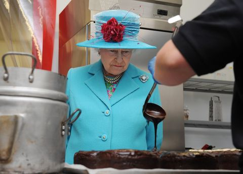 Queen Elizabeth II Visits Cumbria
