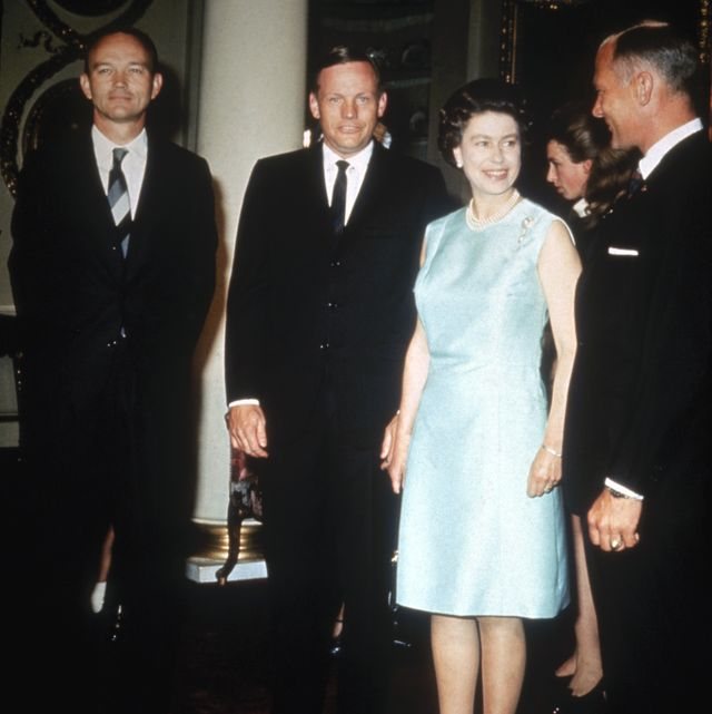 Queen With Astronauts