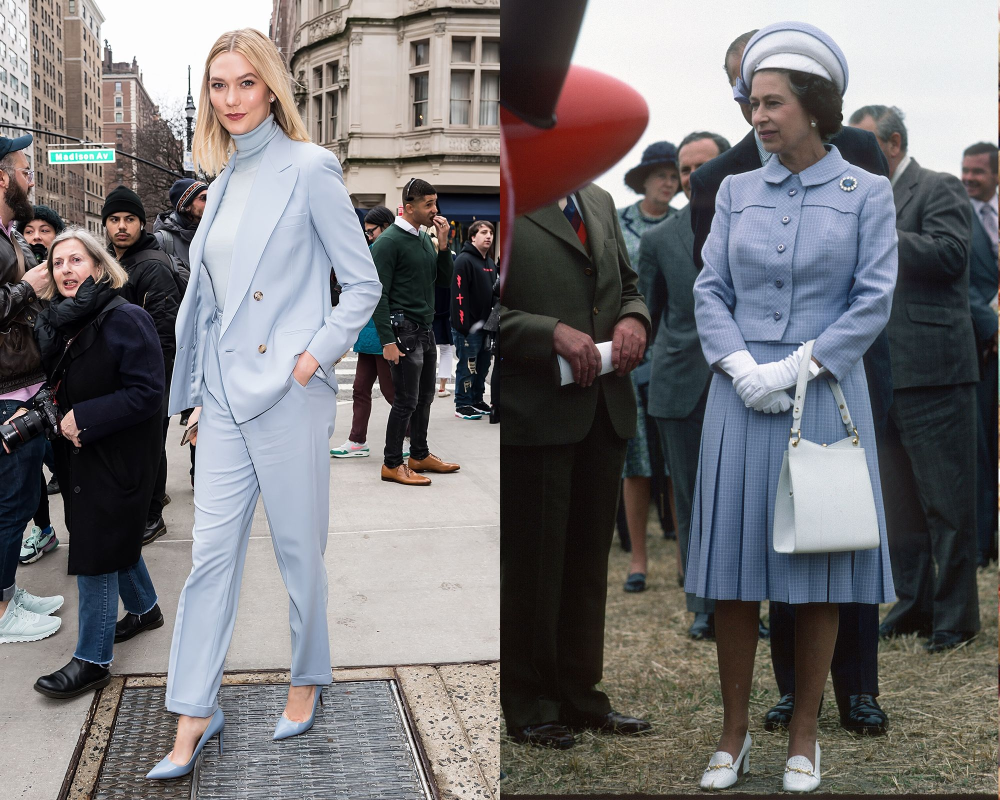 Karlie Kloss vs. the Queen