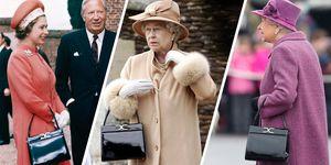 queen elizabeth launer handbag
