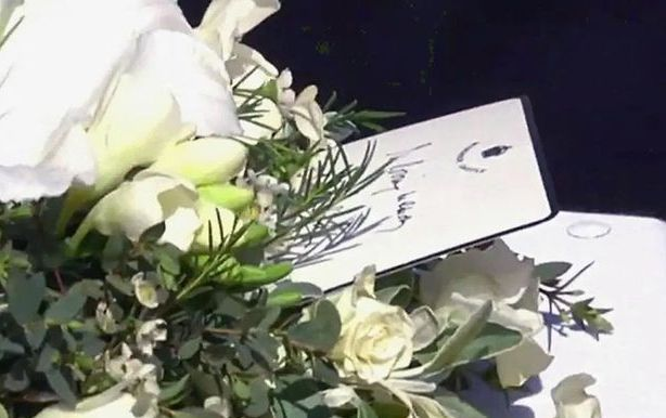 The Queen Left a Heartbreaking Handwritten Note on Prince Philip's Coffin