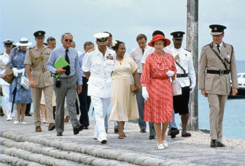 queen and michael shea kiribati