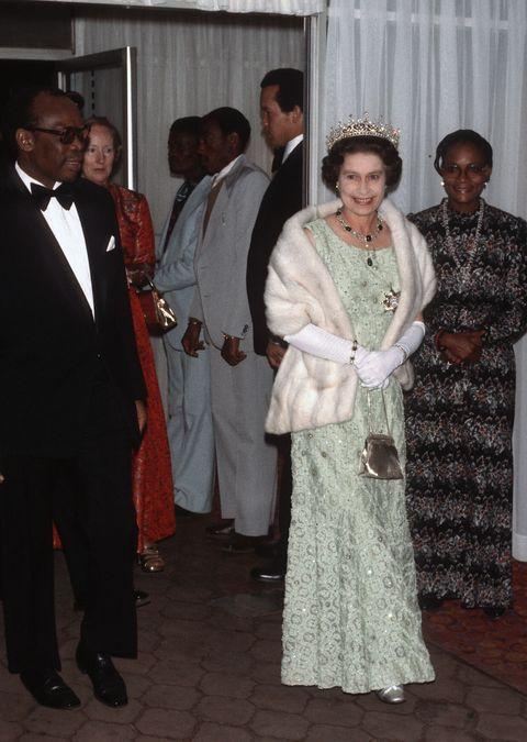 queen elizabeth botswana