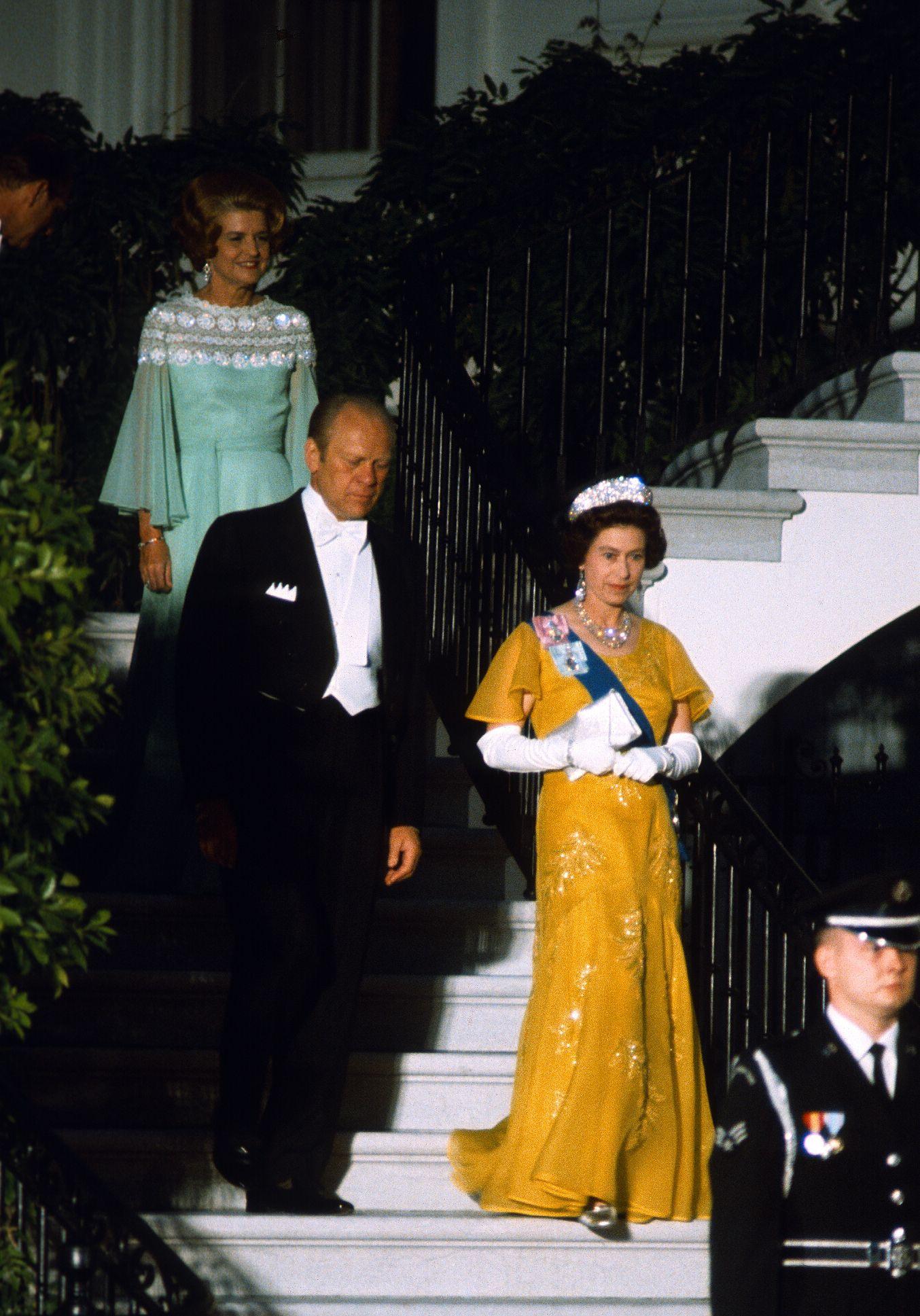 Queen Elezabeth Evening Gown