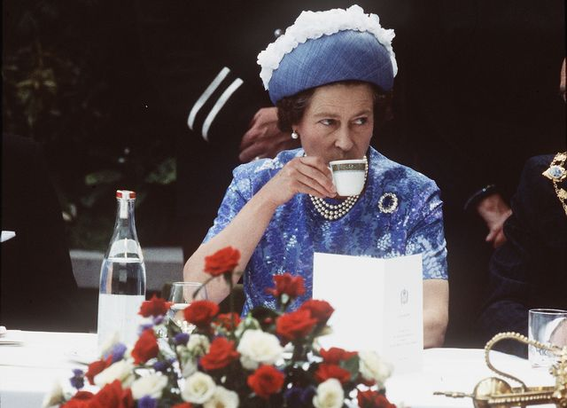 queen elizabeth tea