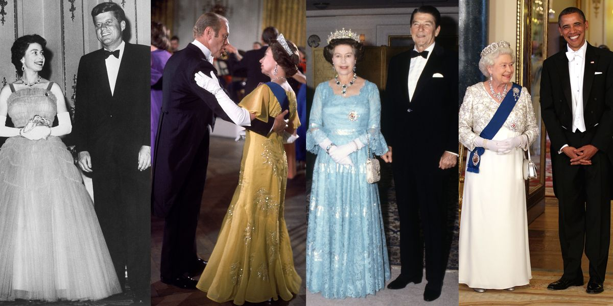 Photos Of Queen Elizabeth With Us Presidents History Of British
