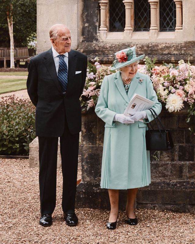queen elizabeth prince philip attend princess beatrice's royal wedding