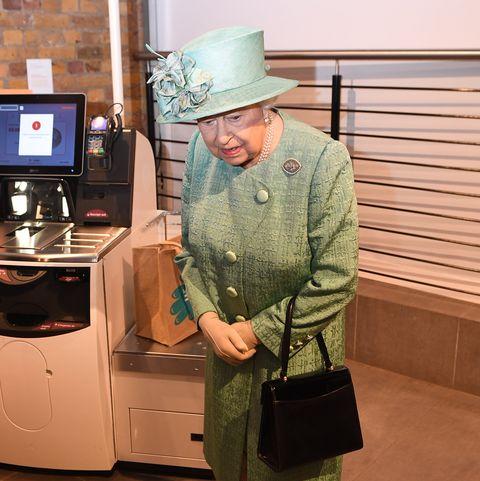 Queen Elizabeth,Sainsbury's