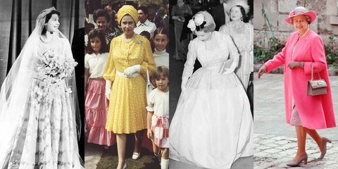 2f1b00a2b6d8 Photos of Queen Elizabeth's Style - How the British Queen's Fashion ...