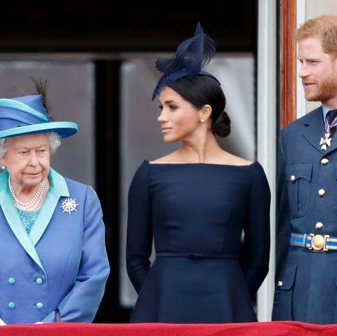 Queen, PrinceHarry, Meghan Markle, titles