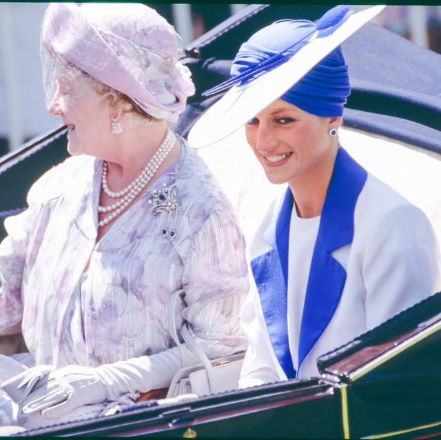 members of the royal family attend the royal ascot race meeting 1989