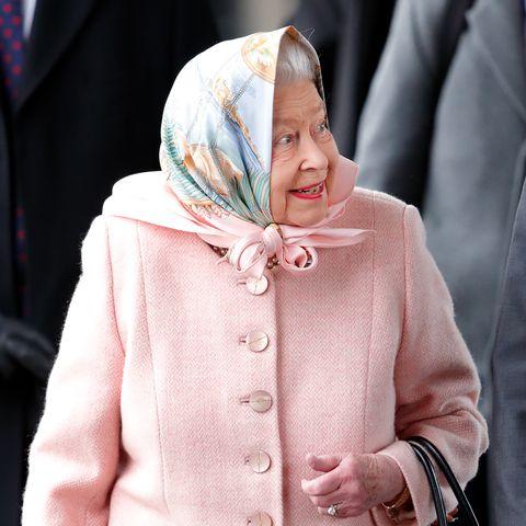 Queen Elizabeth, Sandringham, Christmas
