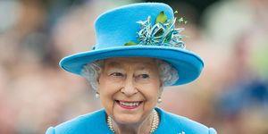 Queen Elizabeth, trein