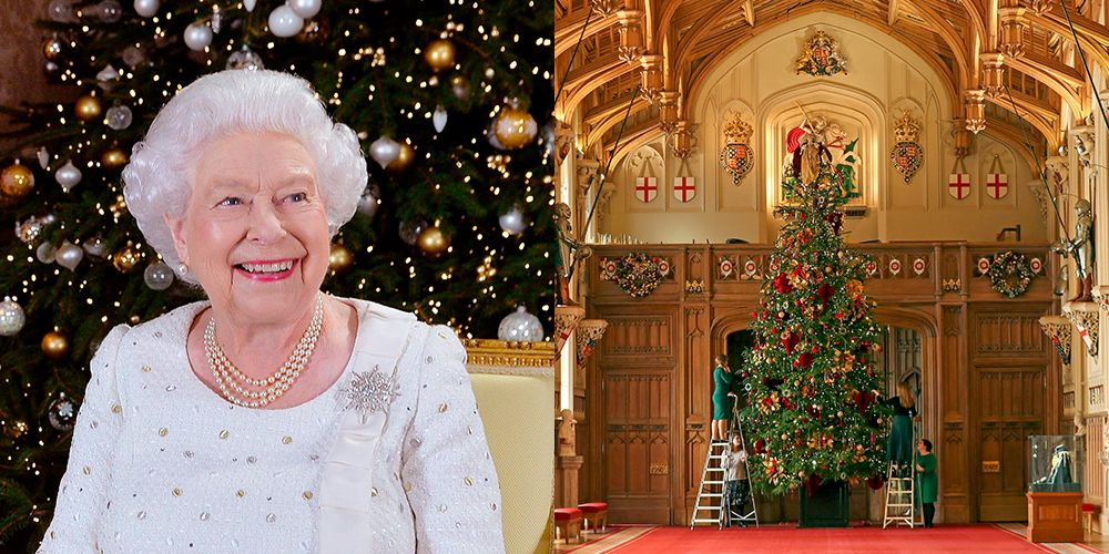 The Royal Family Went All-Out on Christmas Decorations for Windsor Castle