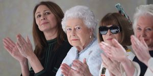 Queen at London Fashion Week