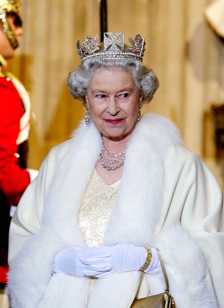 Apparently the Queen's dresser uses gin to clean her diamonds
