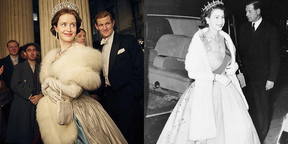 60 фото бок о бок королевских нарядов, воссозданных на «Короне»