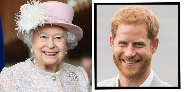 queen wishes prince harry happy birthday