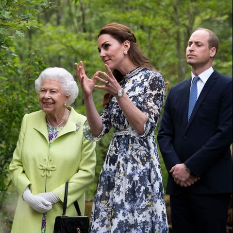 Queen Kate Middleton Chelsea Flower Show