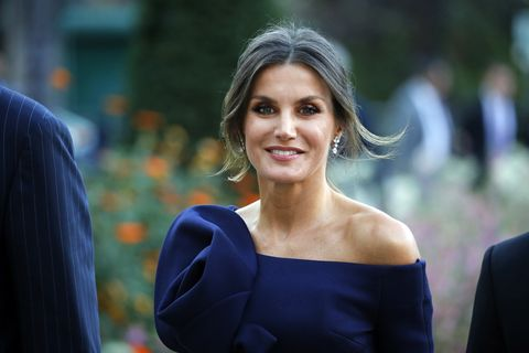 2b53041ac3 King Felipe Of Spain And Queen Letizia of Spain Attend The  Miro