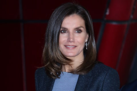 Queen Letizia of Spain Attends 'International day of Safe Internet' Event in Madrid