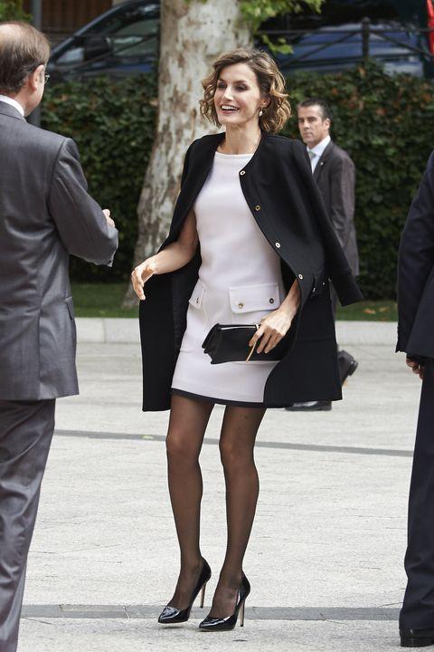 queen letizia of spain attends 'luis carandell' journalism award