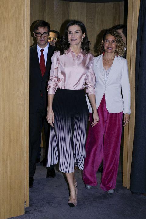 Queen Letizia Attends the Rare Diseases World Day Event