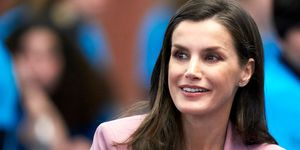 Queen Letizia Of Spain Attends The Scientific Research Winner Announcement On 'Princesa de Girona 2020' Foundation Awards...
