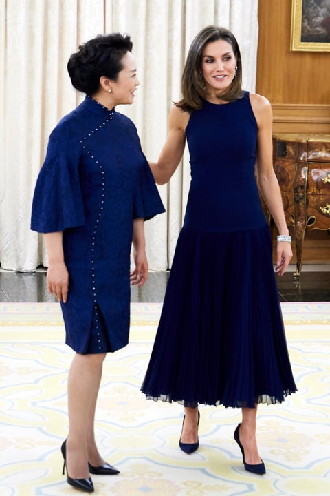 Spanish Royals Host An Official Dinner For Chinese President Xi Jinping And His Wife