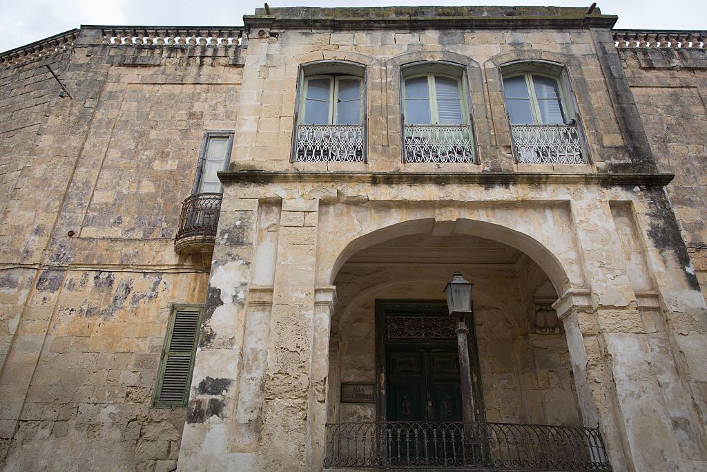 The Queen's former idyllic Maltese home is being restored and opened to the public