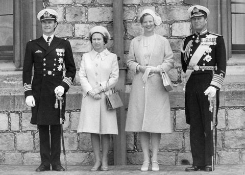 royalty   windsor castle, berkshire 英國皇室,英國女王,丹麥皇室,丹麥女王,伊莉莎白二世,瑪格麗特二世,皇室