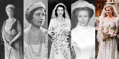 bijoux, royals, diadème, mariage