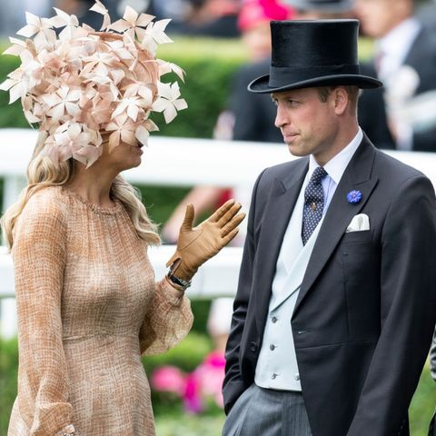 Queen Maxima of the Netherlands Wears a Show-stopping Hat to Royal Ascot