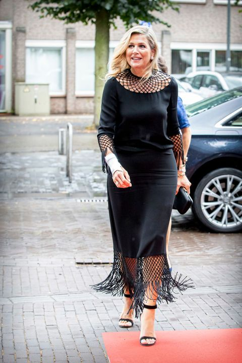queen maxima of the netherlands  attends the king willem i lecture in uden