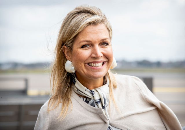 queen maxima of the netherlands attends a music project in katwijk