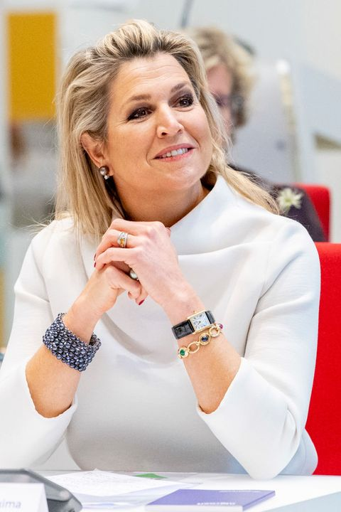 queen maxima of the netherlands visits nlgroeit event in gouda