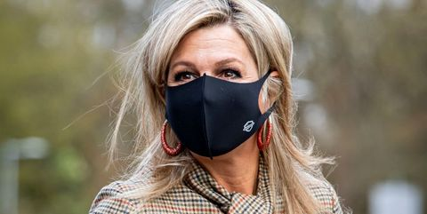 queen maxima of the netherlands visits bovenij hospital in amsterdam