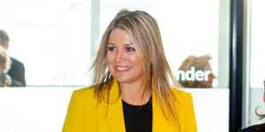 Queen Maxima Of The Netherlands Visits Foundation Make A Wish In Amsterdam