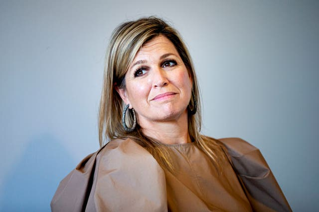 queen maxima visits olvg hospital in amsterdam